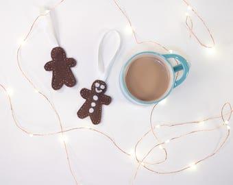 Gingerbread Person Ornament