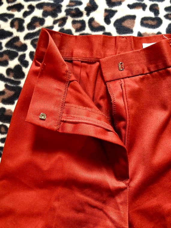 1970's Rust Sears Bell Bottoms Pants - image 5