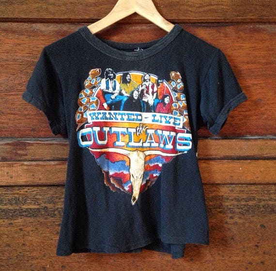 1979 Vintage The Outlaws and Boston Tour T-Shirt