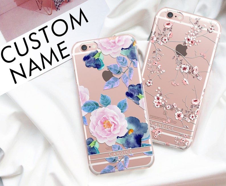 For Samsung S9 Case,S9 Plus Case,Clear With Flower,Galaxy S9 Case,S9  Flowers,Lg Stylo 3 Plus Case,Lg Stylo 3 Plus Case,Samsung S9 Plus Cas 4