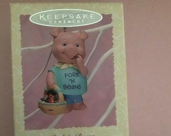 Hallmark Pork n Beans 1996*Signed by Artist