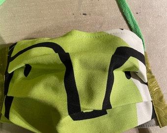Swedish Ikea print face mask