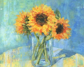 Art Print - Sunflowers