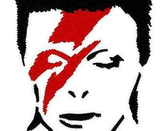 Ziggy Stardust Embroidery File
