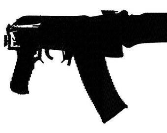 AK47 Kalashnikov Assault Rifle Gun Heavy Weapon #1 Vinyl Wall Decal Art