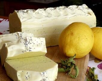 SOAP energizing lemon verbena.