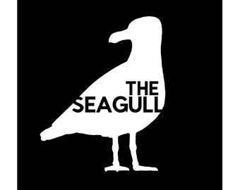 The Seagull: a fully illustrated comic poem