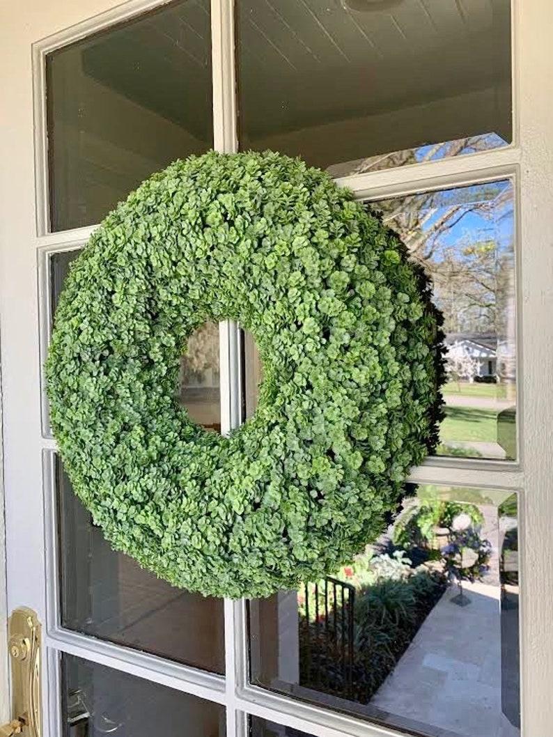 Spring Wreath Wreath Spring Wreath Front Door Wreath Wreaths Mothers Day Greenery Wreath Farmhouse Decor Farmhouse Wreath