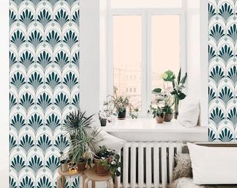 Jade LOTUS - adhesive wallpaper patterns