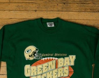 bd077374a 1995 LEE Vintage Green Bay Packers Sweater
