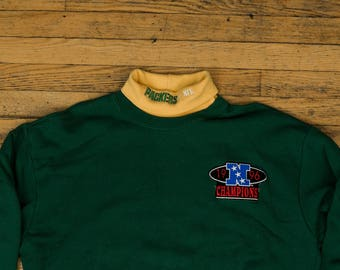 Green Bay Packers Turtleneck Sweater