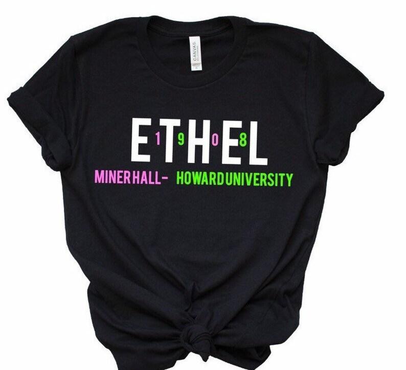 c075ae6f01b Ethel AKA T-Shirt aka sorority aka paraphernalia alpha | Etsy