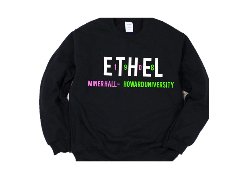 Ethel Sweatshirt | Aka| alpha kappa alpha | greek | sorority | aka  sweatshirt | aka gift | aka paraphernalia | aka shirts