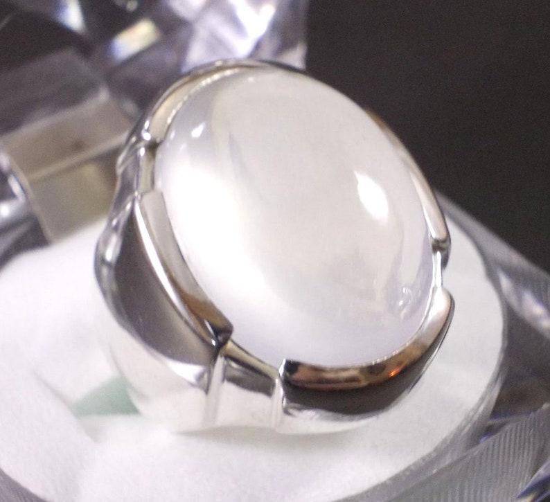 Smoky Quarts Dur e Najaf Handmade Artisan  Sterling Silver 925 Ring for Mens Unique Ring Natural Dur e Najaf Stone Ring