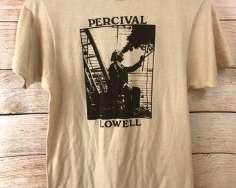 Vintage Percival Lowell Shirt Medium Observatory