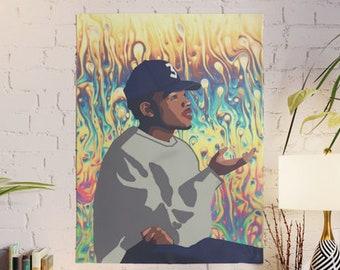 Chance Rapper Poster