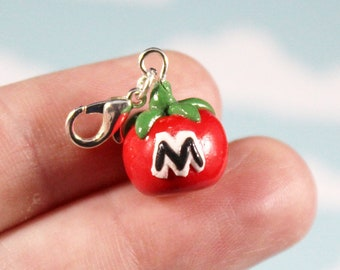 Kirby Maxim Tomato Nintendo Video Game Charm | Kirby Star Allies Polymer Clay Charm