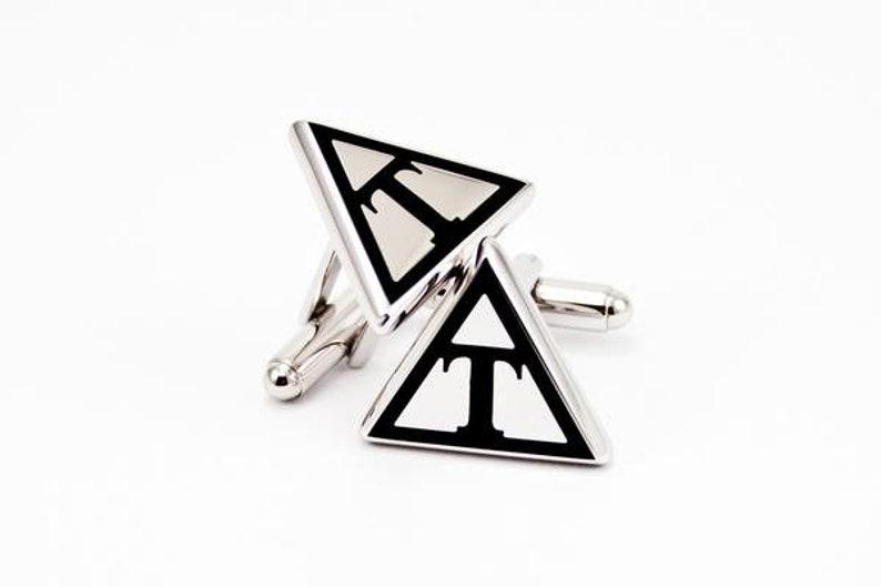 Triangle Cuff Links