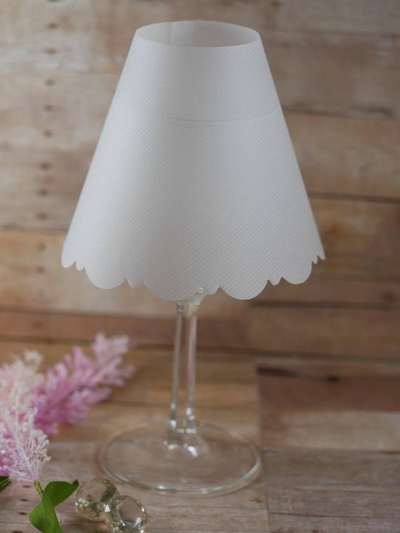 Vellum Wine Glass Luminary Shades Lantern Lines Luminaria Shades Vellum Lamp Shade Wedding Table Decoration
