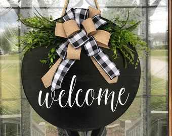 Attirant Welcome Sign For Front Door | Etsy