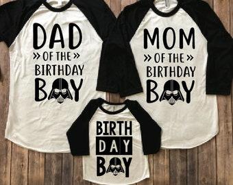 Star wars darth vader birthday shirt, darth vader shirt, darth vader party, darth vader birthday, star wars theme, star wars birthday gift