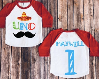 05242d42c Birthday boy shirt- Fiesta version, Taco party, Uno party, mexican theme  bday, sombrero shirt, funny fiesta party shirt, kids birthday