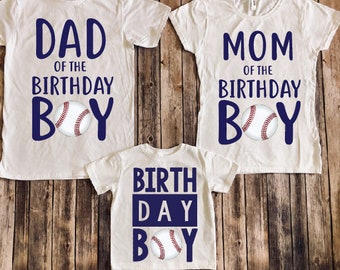 Baseball Shirt Birthday Party Sports Boys