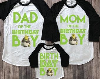 1f36607a1 Shrek birthday shirt, shrek shirt, shrek party, shrek birthday, shrek theme  party, disney birthday, disney kids shirt, disney trip