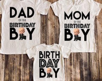 7d5bf17a026d Boss baby birthday shirt