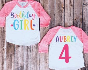 Birthday Girl Shirt Baby Toddler