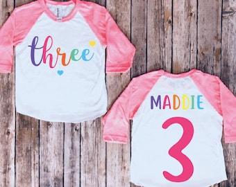 Third Birthday Gift 3rd Birthday Boy Gift For Toddler Boys 3 Year Old Birthday Shirts Boy 3rd Birthday Shirt Plane Shirt