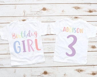 Eight Birthday ShirtGirl Birthday ShirtBirthday ShirtBirthday Shirt8th Birthday Shirt