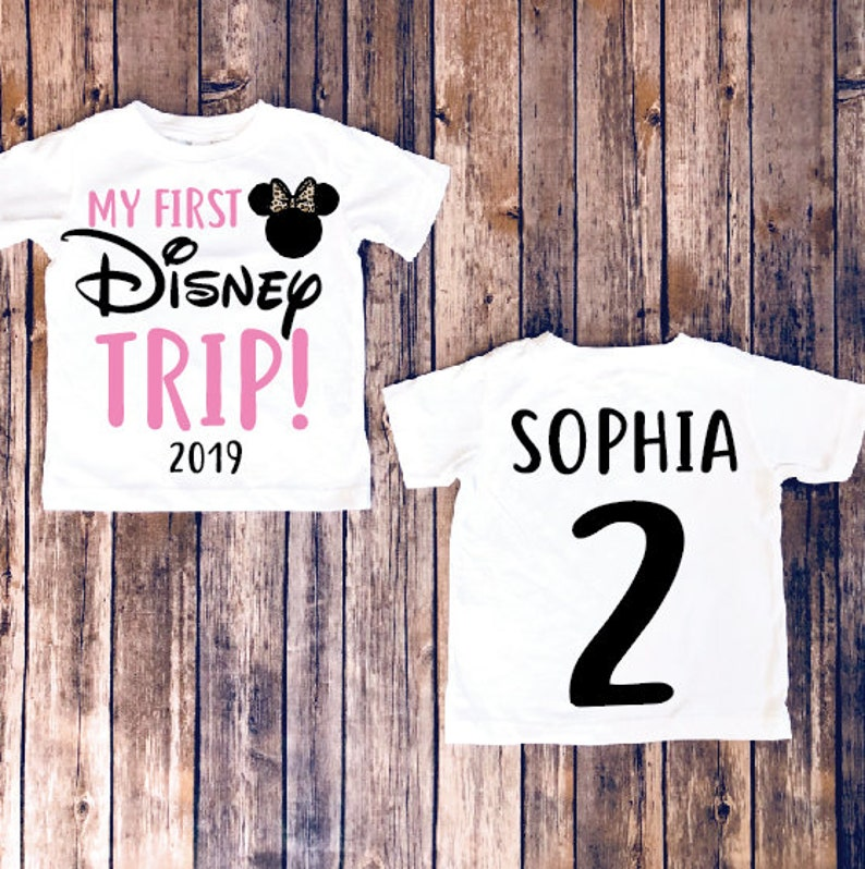 c8ffd7cd0 My first disney trip disney kids shirt disneyland shirt | Etsy