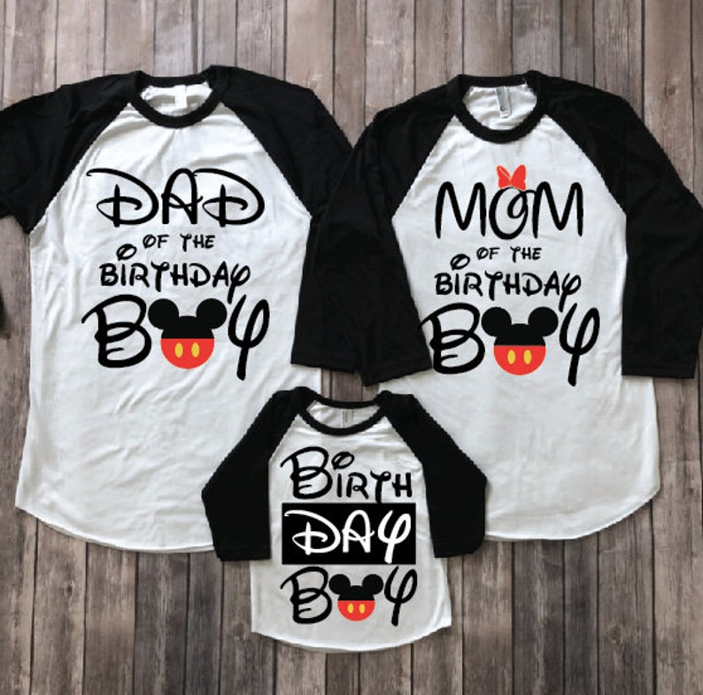 Mickey Mouse Birthday Shirt Disney