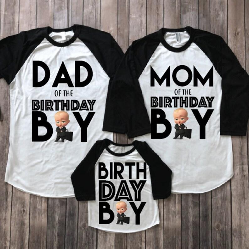 Boss Baby Birthday Shirt