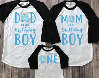 Donut birthday shirt, 1st birthday donut shirt,  first birthday shirt, donut birthday, donut party, birthday boy shirt, matching birthday