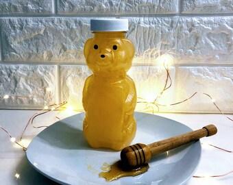 8 oz Clear PET Honey Bear Bottle | Bath & Body | Salts | Lotions | Bubbles