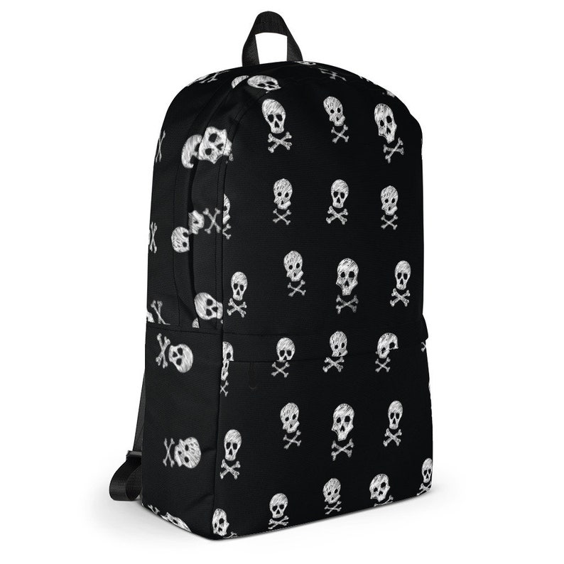 Cool Skulls Black /& White Backpack