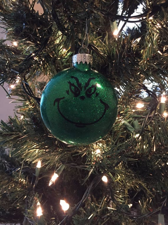 image 0 - Grinch Christmas Ornament Christmas Ornaments Grinch Etsy