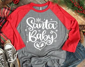77f93f05dca Santa baby shirt