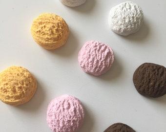Ice Cream Scoop charms