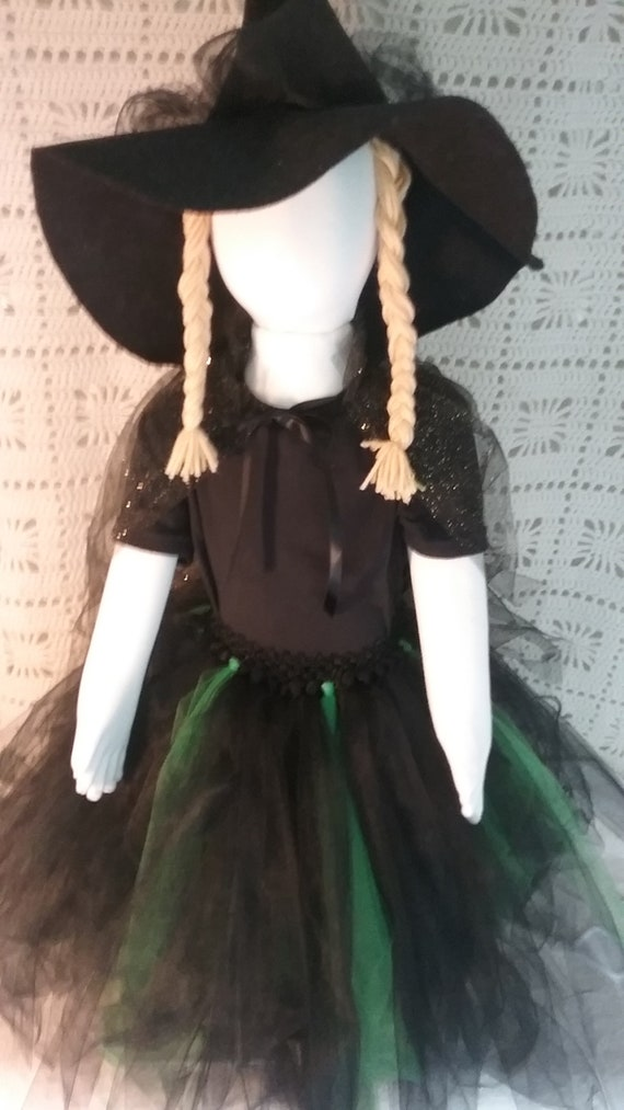 Witch Costume Girls Witch Costume Complete Witch Costume Etsy