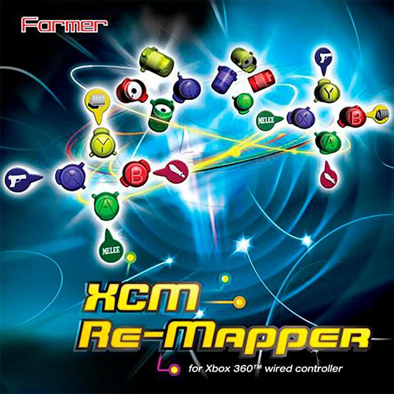 XCM Re-Mapper (gamepad button remapper)