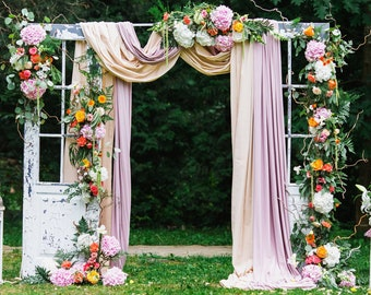 Wedding arch decor etsy more colors wedding arch junglespirit Images
