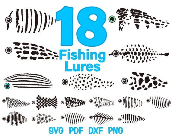 Download Fishing Lure Svg Bundle Fishing Lure Pattern Svg For Etsy