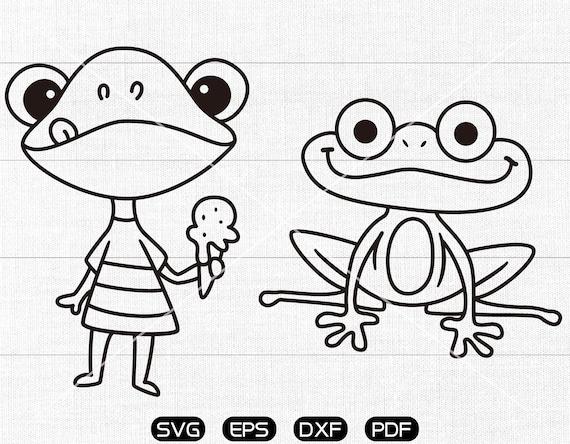 Free Frog Silhouette Vector - Download Free Vectors, Clipart Graphics &  Vector Art