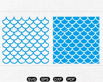 Mermaid seamless pattern, Mermaid pattern SVG, Mermaid scale svg, Fish scale pattern Clipart, cricut, silhouette cut files commercial use