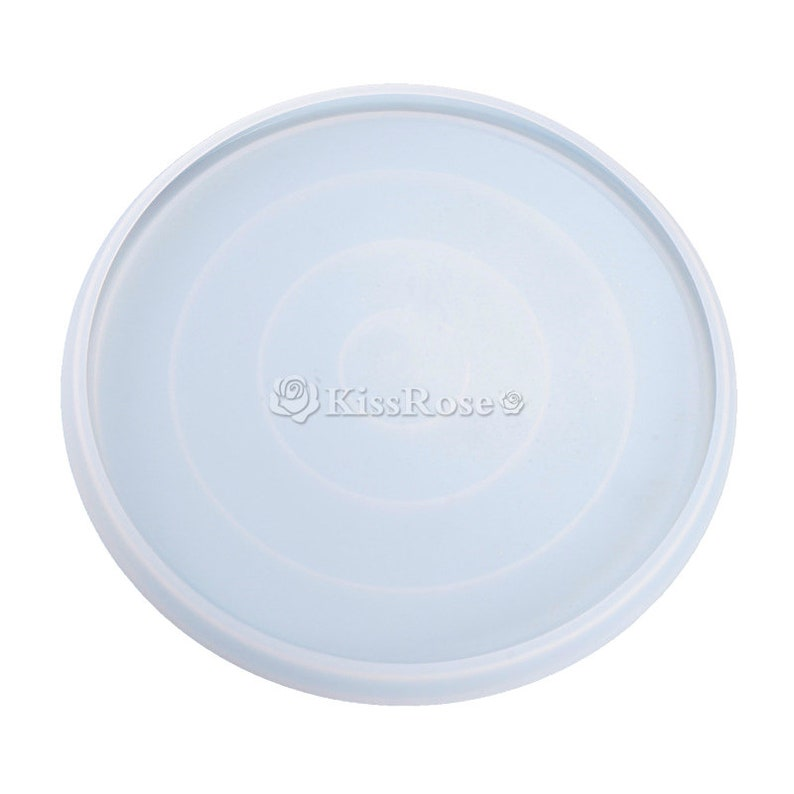 Big size plate silicone mold-Round dish resin molds-Fruit tray mold-Fruit plate mold-Silicon plate mold-Resin dish mold-Resin tray mold