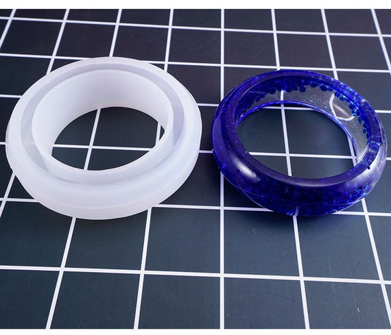 58mm Wide Bangle Silicone Mold Flexible Resin