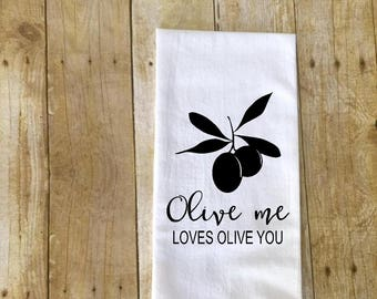 Set of 3 or 4 kitchen towels